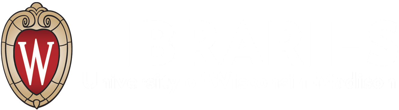 UW Madison Libraries Logo